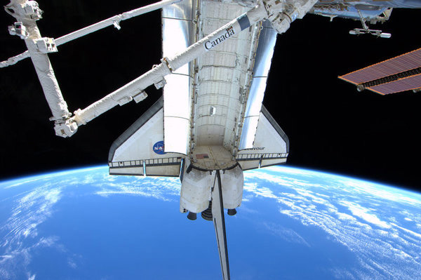 Shuttle Endeavour Undocks From Space Station