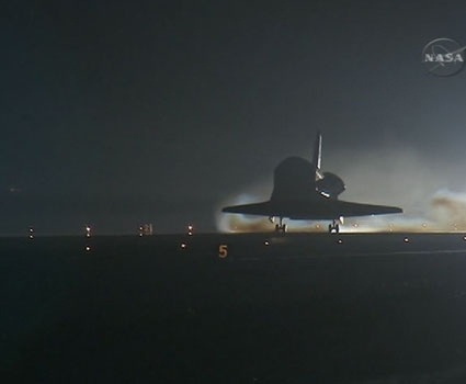 Space Shuttle Endeavour Lands Safely in Florida
