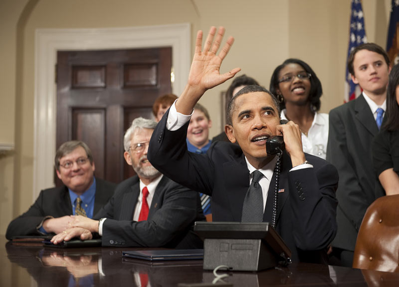 Gallery: President Obama and NASA