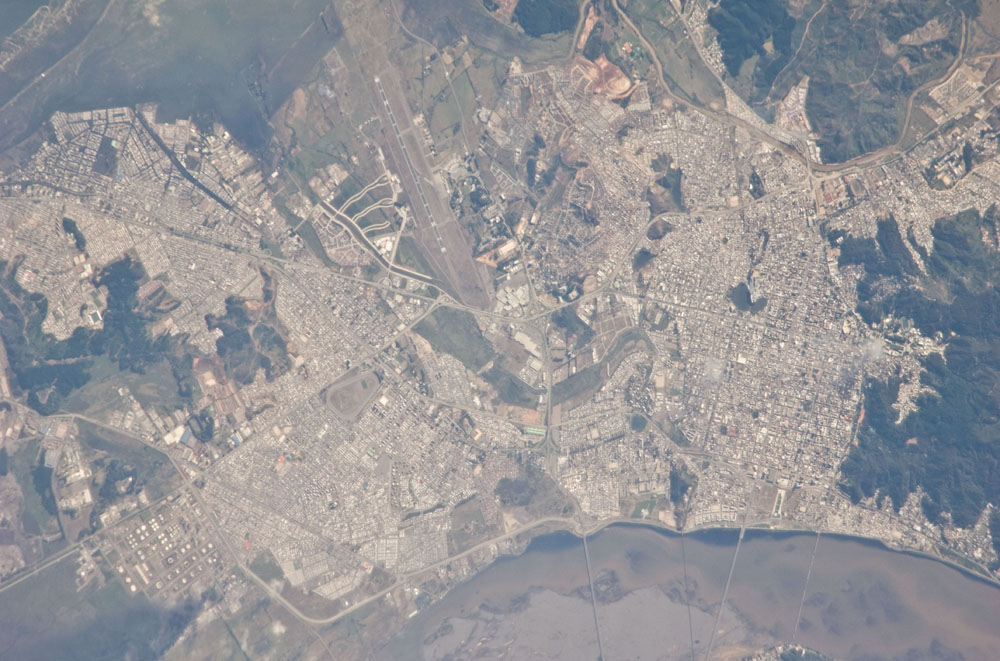 Chile Earthquake Damage Seen From Space