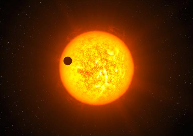 Newly Discovered Exoplanet May Have Water Clouds