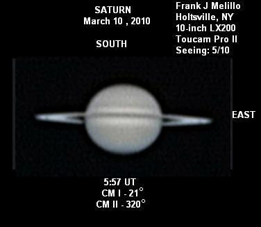 Saturn at its Best for 2010
