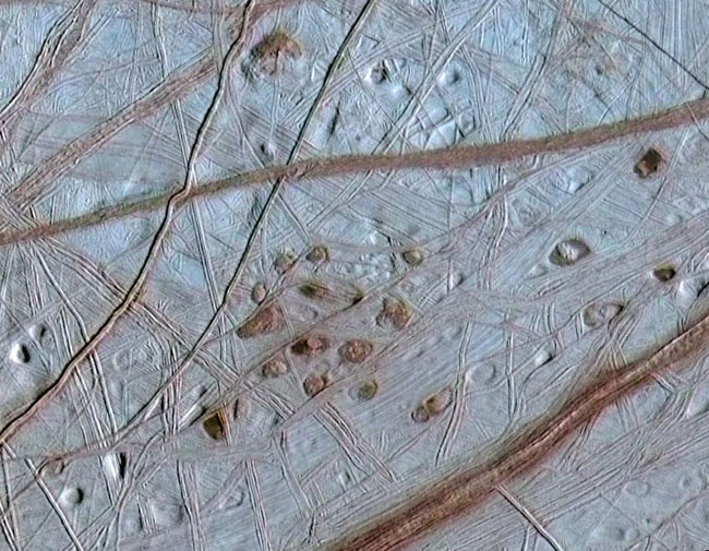 Rare Arctic Springs Hold Clues to Jupiter's Moon Europa