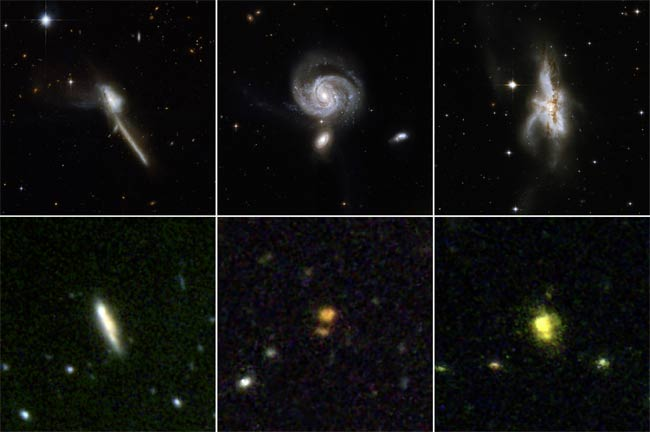 Merging Galaxies Obscure Huge Black Hole