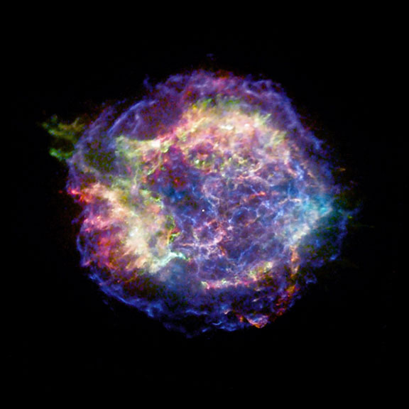 Supernova Explosion Gets 3-D Makeover