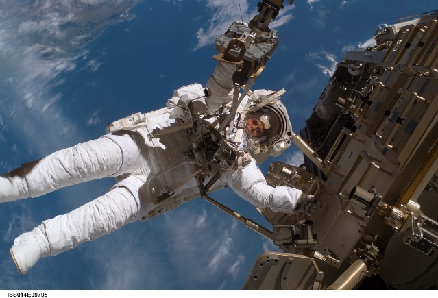 Cyborg Astronaut Space Race Heats Up