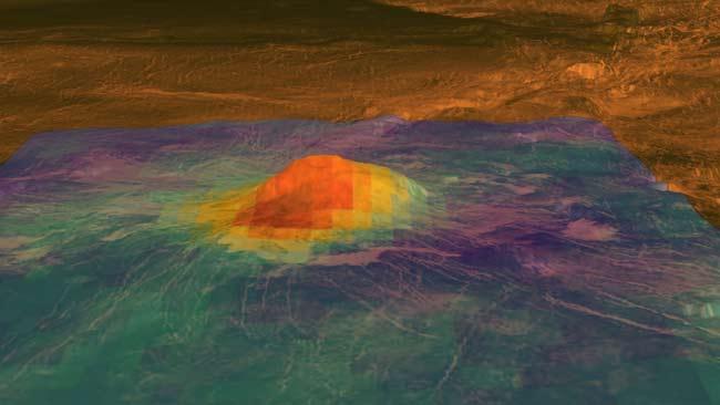 Venusian Volcanoes