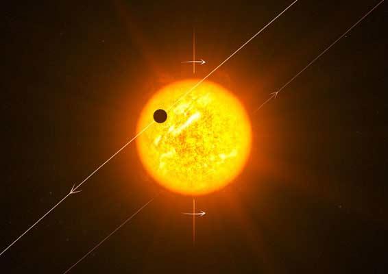 Backwards Alien Planets Challenge Theories