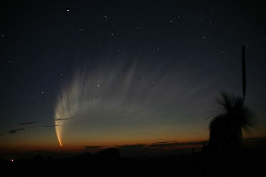 Stunning Comet's Size Shocks Scientists