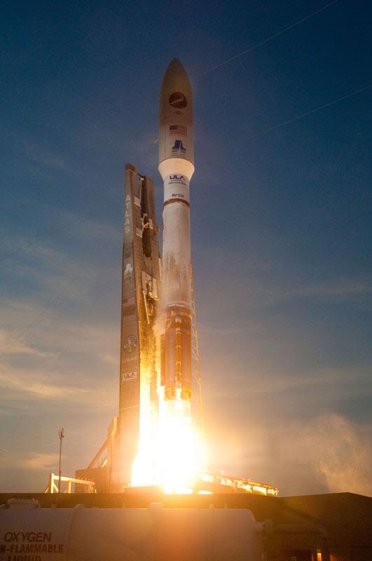Secretive X-37B Space Plane Takes Flight