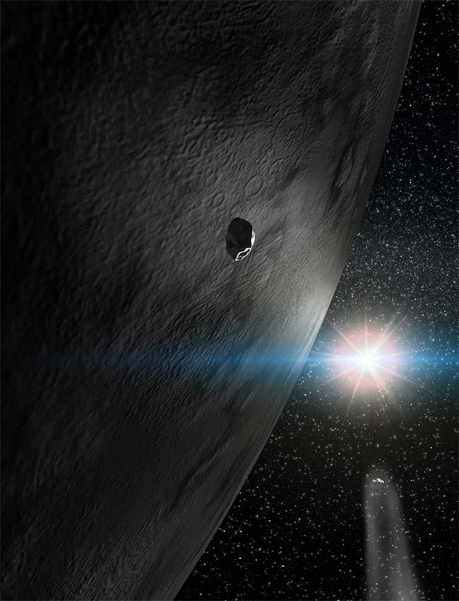 ice comet asteroids - photo #9
