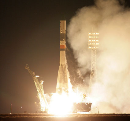 Russian Cargo Ship Docks at Space Station Despite Malfunction