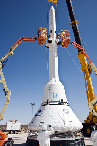 Funding for NASA Spaceship's Launch Escape System Runs Out