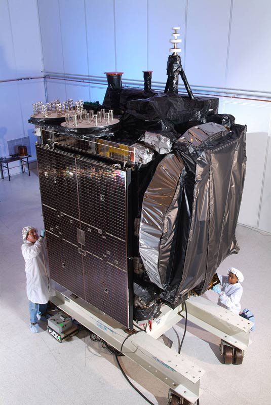 Out-of-Control Satellite Threatens Other Nearby Spacecraft