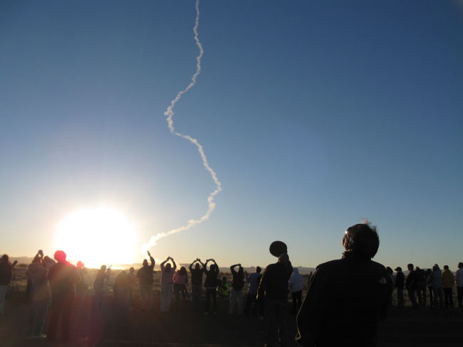Suborbital Rocket Launches With Student Experiments, Human Ashes Onboard