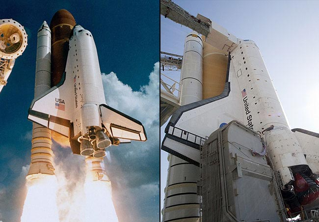 Shuttle Atlantis to Fly Final Flight With Rocket Segment From Maiden Mission