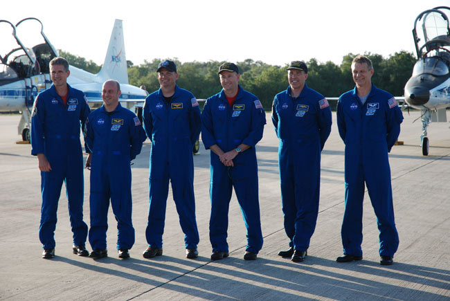Astronauts Arrive in Florida for Final Planned Launch of Shuttle Atlantis
