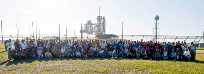 Space Shuttle Lovers Flock to Final Flight of Atlantis