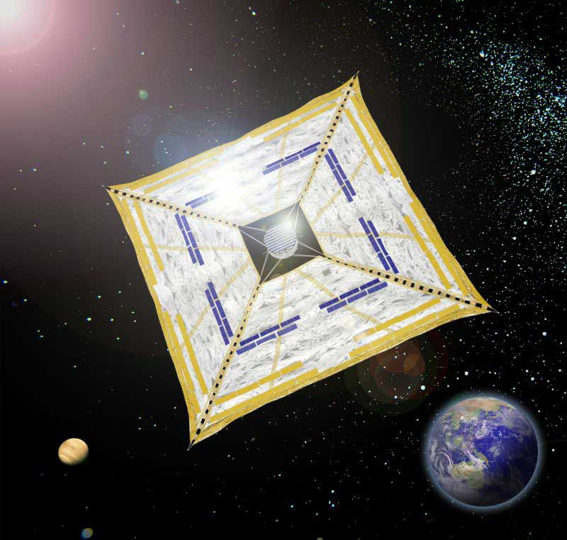 Japanese Solar Sail Headed for Venus and Beyond