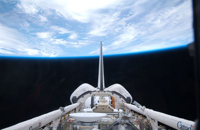 Atlantis Shuttle Astronauts Begin Spacewalk No. 1