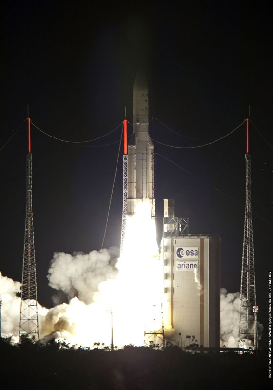 Ariane 5 Makes History with 50th Mission