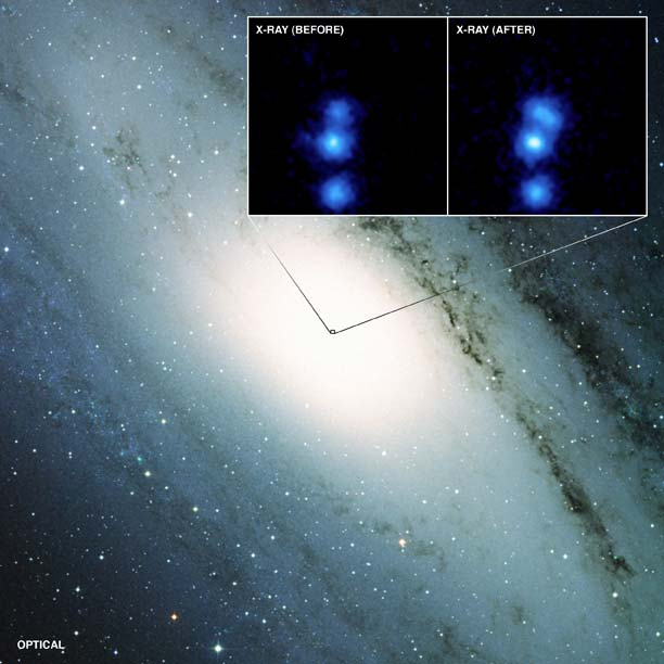 Bizarre Behavior of Two Giant Black Holes Surprises Scientists
