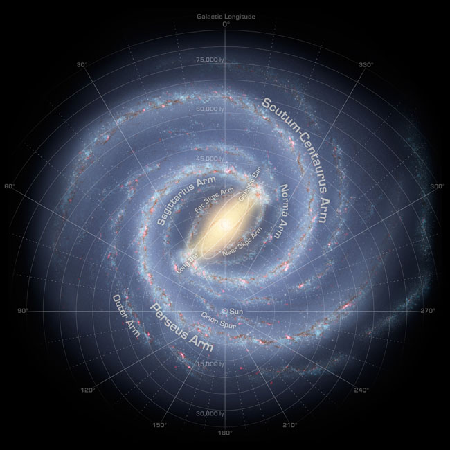 New Details of Milky Way Galaxy's Structure Revealed