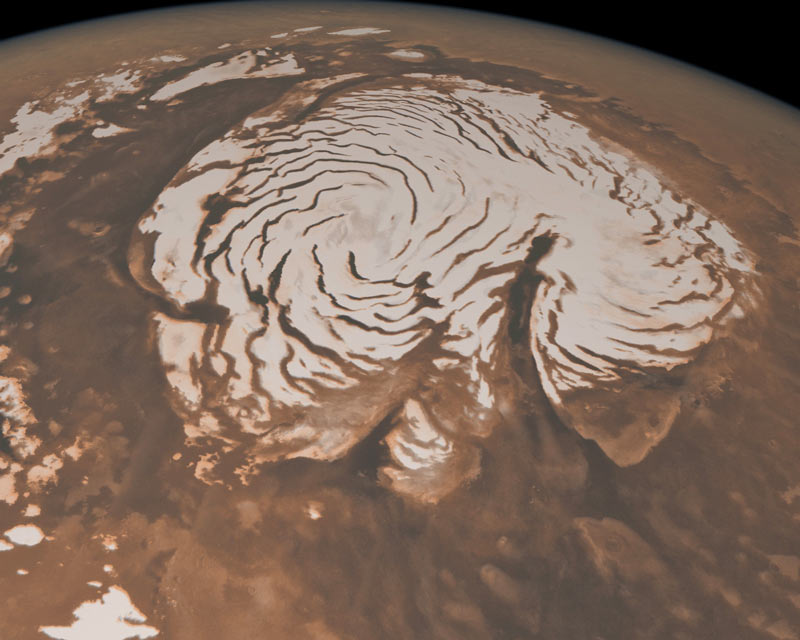 Mystery Spirals on Mars Finally Explained