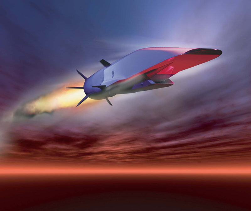 Air Force's X-51 Scramjet Sets Record