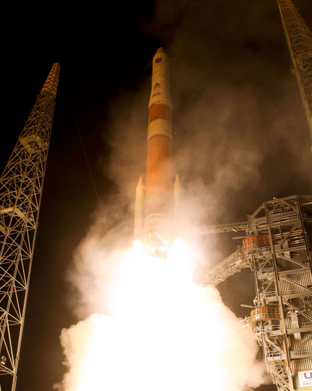 Air Force Launches Advanced New GPS Satellite