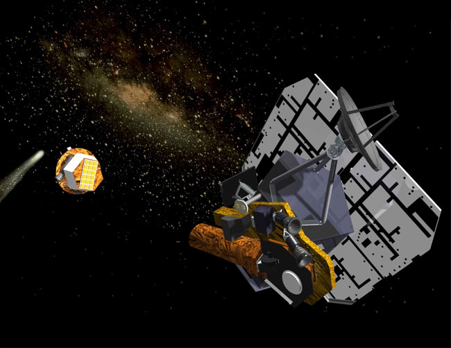 Recycled NASA Spacecraft to Fly by Earth, Comet