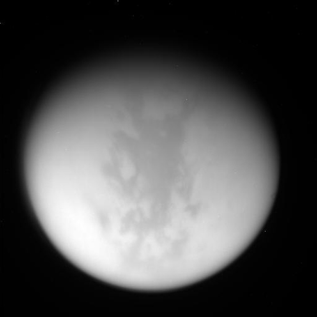 Largest Lake on Saturn's Moon Titan Gets Close-Up