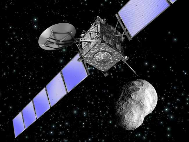 European Spacecraft Has Weekend Date With Asteroid
