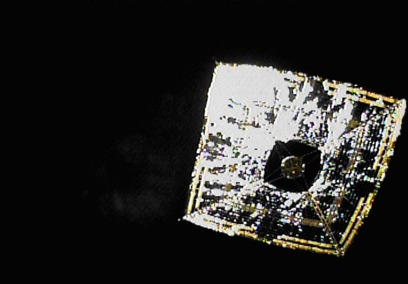 Japan's Solar Sail Is the Toast of Space Science