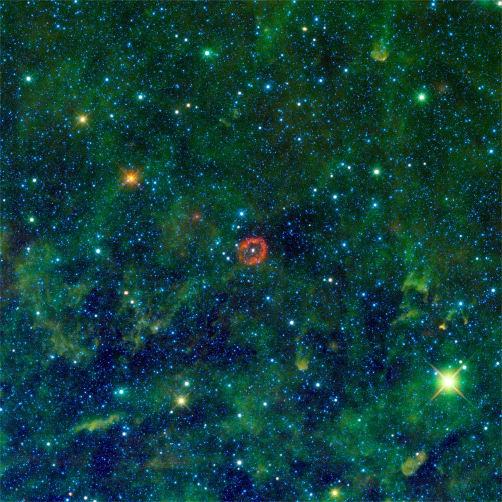 Puffy Star Looks Like Cosmic Jellyfish