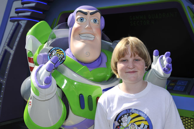 Buzz Lightyear's Out-of-This-World 'Toy Story' Told by Boy's Space Patch