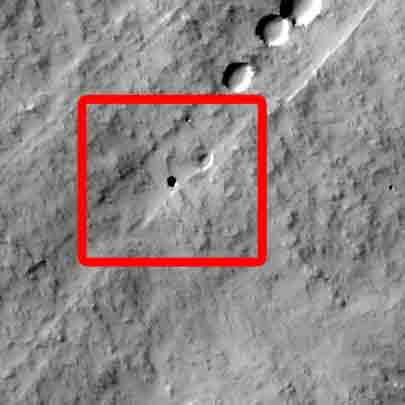 7th-Graders Discover Mysterious Cave on Mars