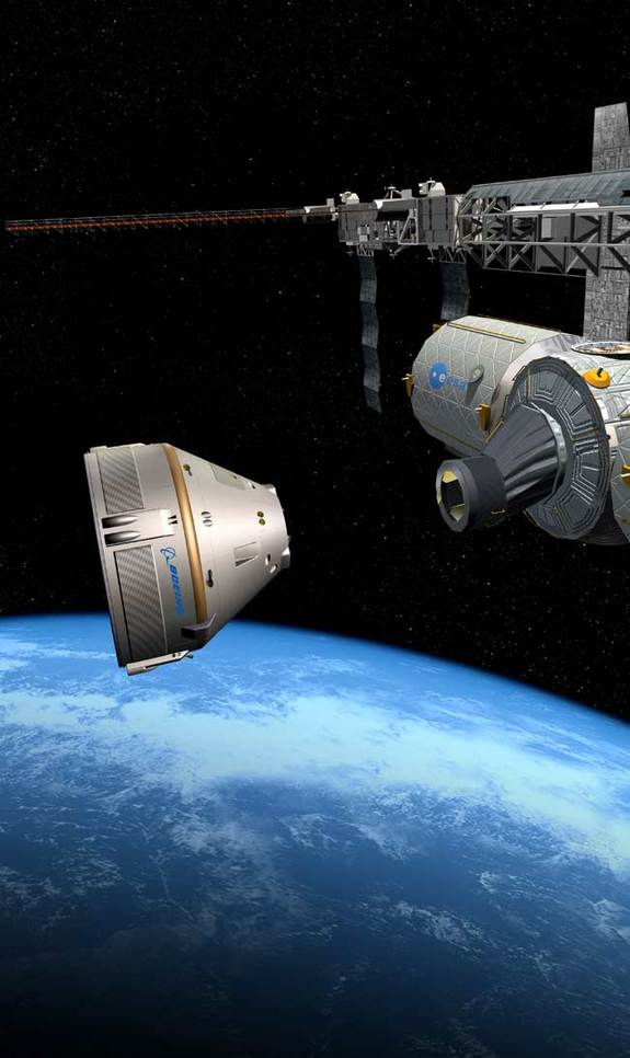 Helping to pave the road for the future of commercial spaceflight, Boeing is hard at work on the research and development of a new space capsule aimed at flying people to the International Space Station.