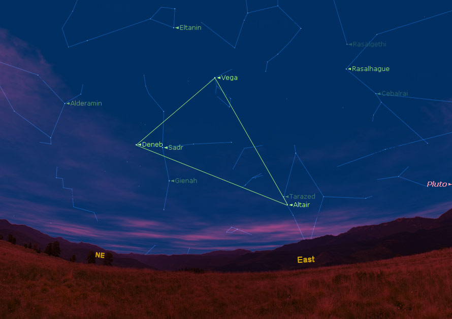 'Summer Triangle' Promises Skywatching Treat