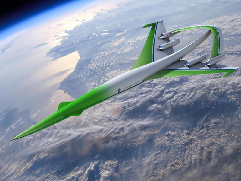 Supersonic Concept Plane Would Shush Sonic Booms