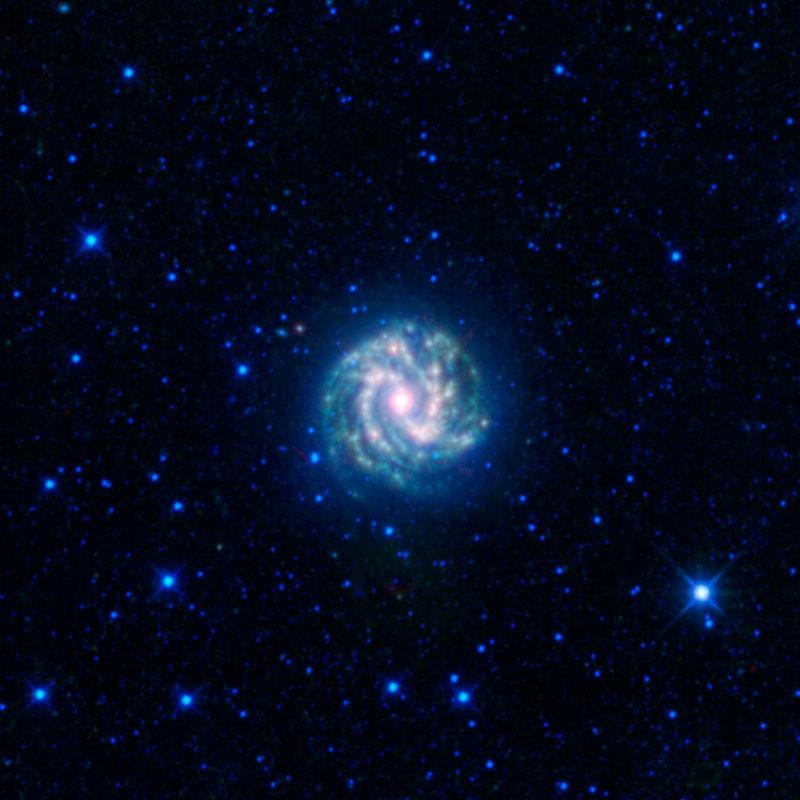 Southern Pinwheel Galaxy Shines In New Photo