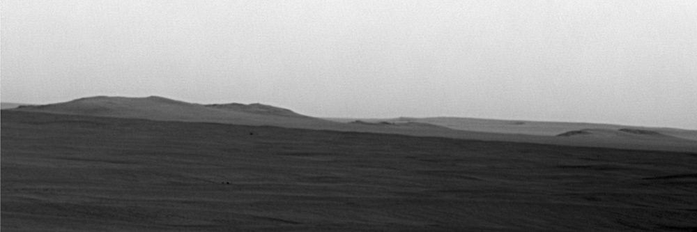 Mars Rover Sees Huge Crater Better Than Ever
