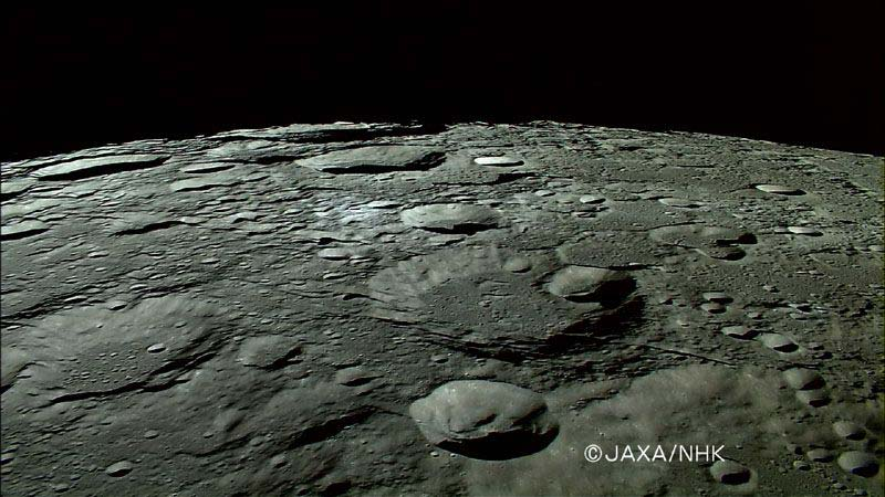 Craters Expose the Moon's Insides