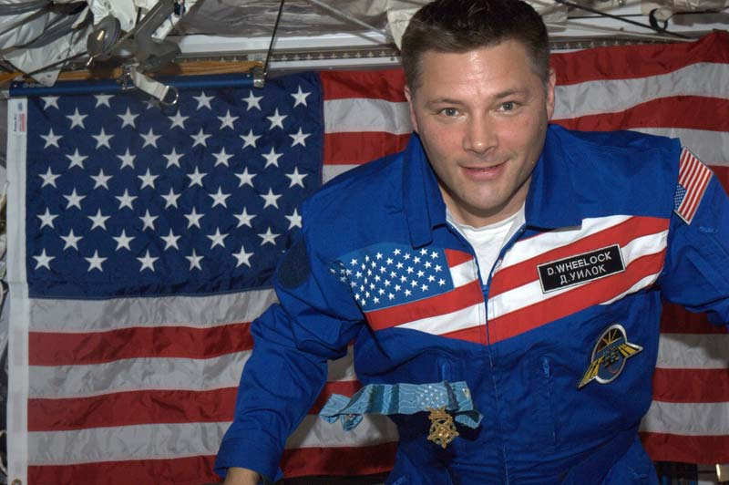 Astronaut Sends Fourth of July Message From Space