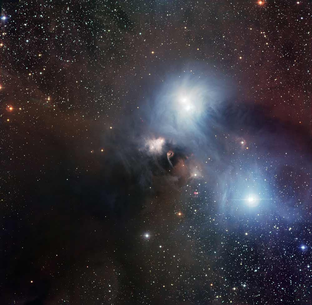 Stunning Portrait of Nebula and Star Taken By Telescope