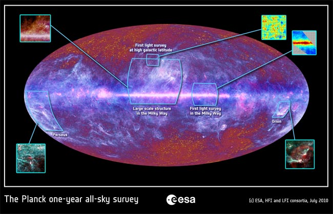New Sky Map Could Help Reveal How Universe Formed