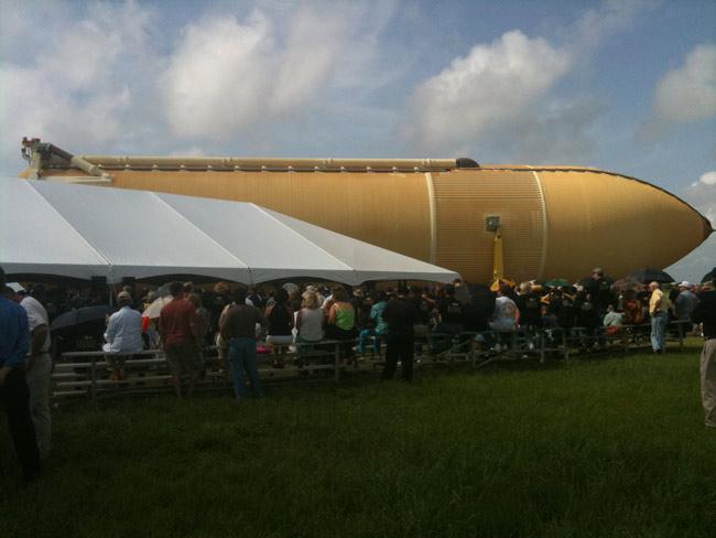 Fuel Tank Ready For Final Space Shuttle Flight