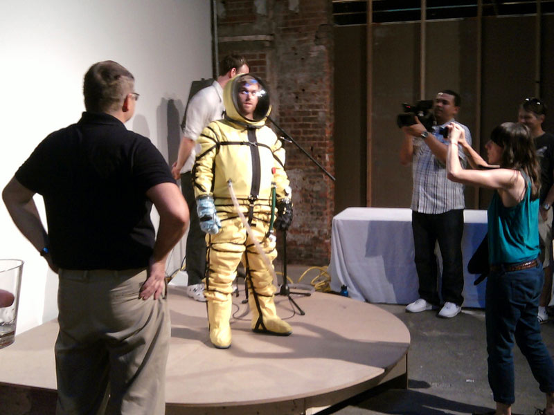 New Private Spacesuit Unveiled With New York Flair
