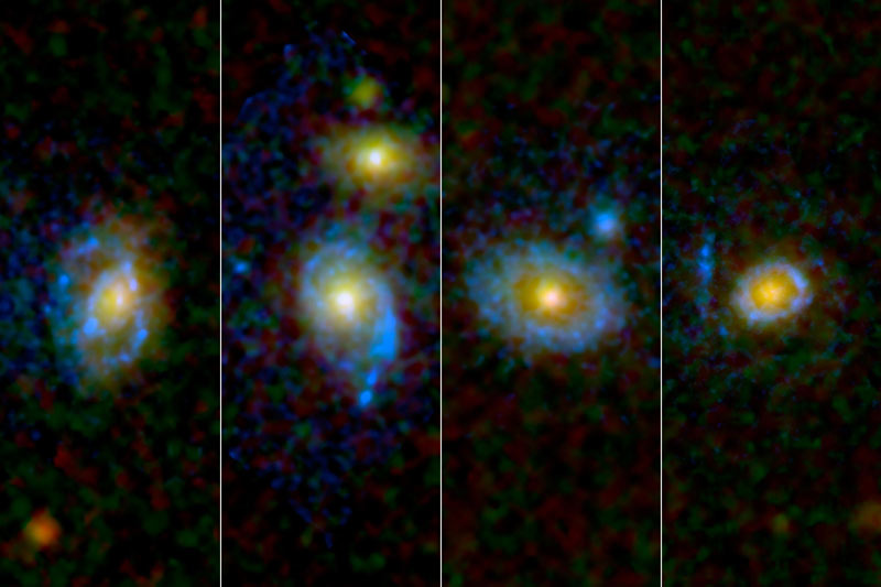 Giant Rings Around Galaxies Perplex Astronomers