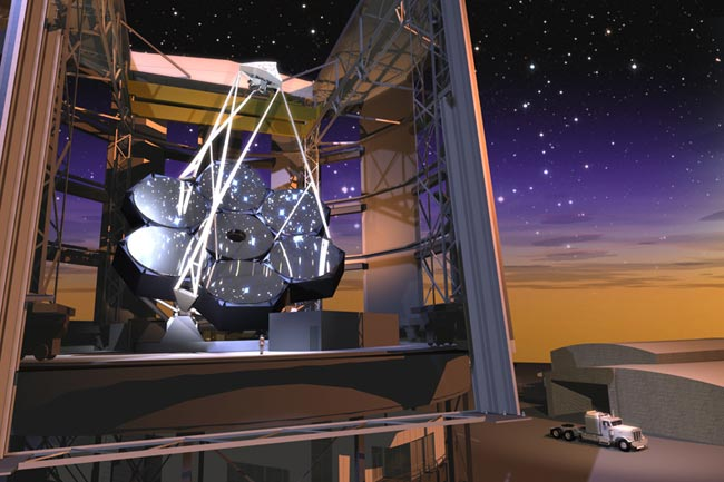 Giant New Telescope Gets $50 Million In Funding